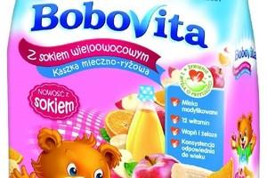 BoboVita poszerza ofertę kaszek z sokiem