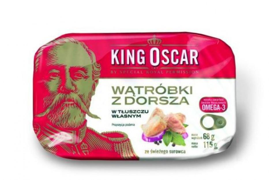 Wątróbki z dorsza firmy King Oscar