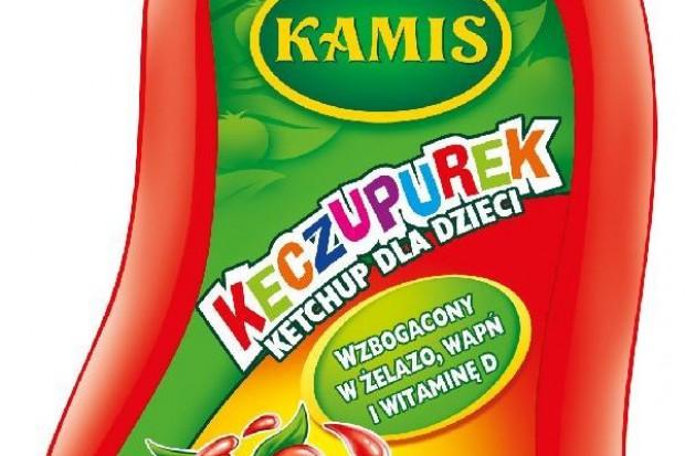 Suplementowany ketchup dla dzieci od Kamisa