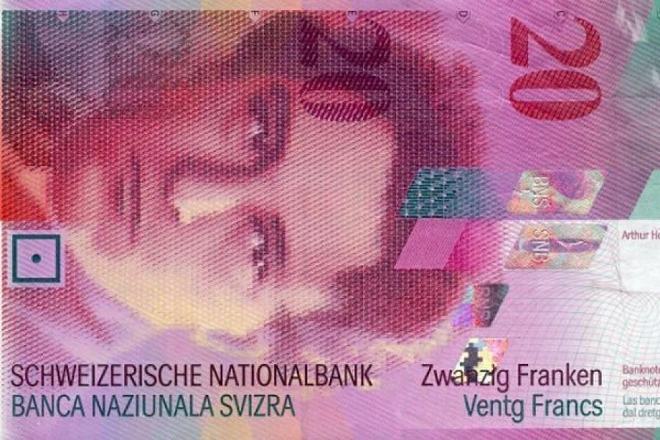 Frank szwajcarski bije kolejny rekord - 3,65 zł