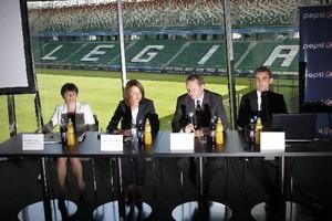 Legia oficjalnie z Pepsico. Firma będzie dystrybuować napoje i przekąski w ponad 20 punktach na stadionie