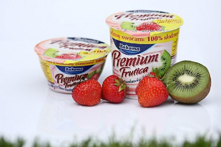 Bezcukrowy jogurt od Bakomy