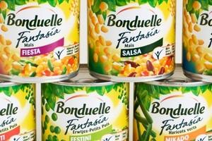 Bonduelle notuje wzrosty rocznych przychodów, pomimo spadków w czwartym kwartale