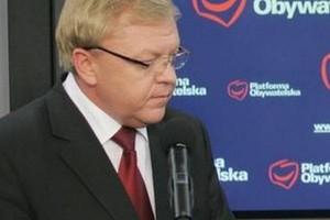 Zbigniew Chlebowski odchodzi z PO