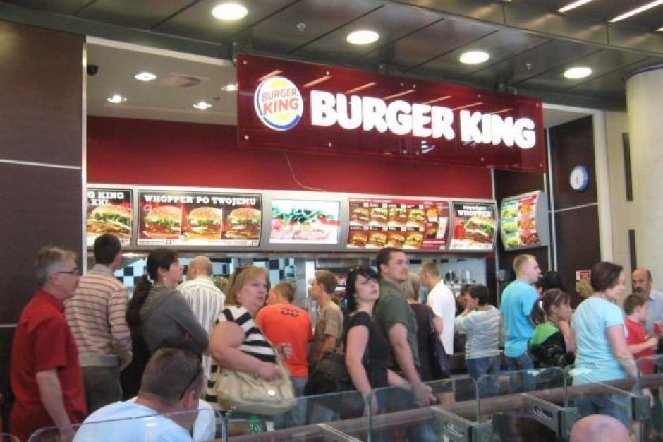 Burger King zanotował spory spadek zysku netto