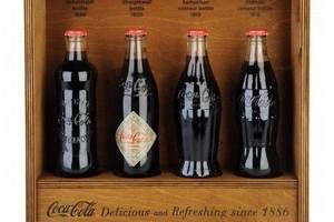 Historyczne butelki Coca-Coli w Burger Kingu