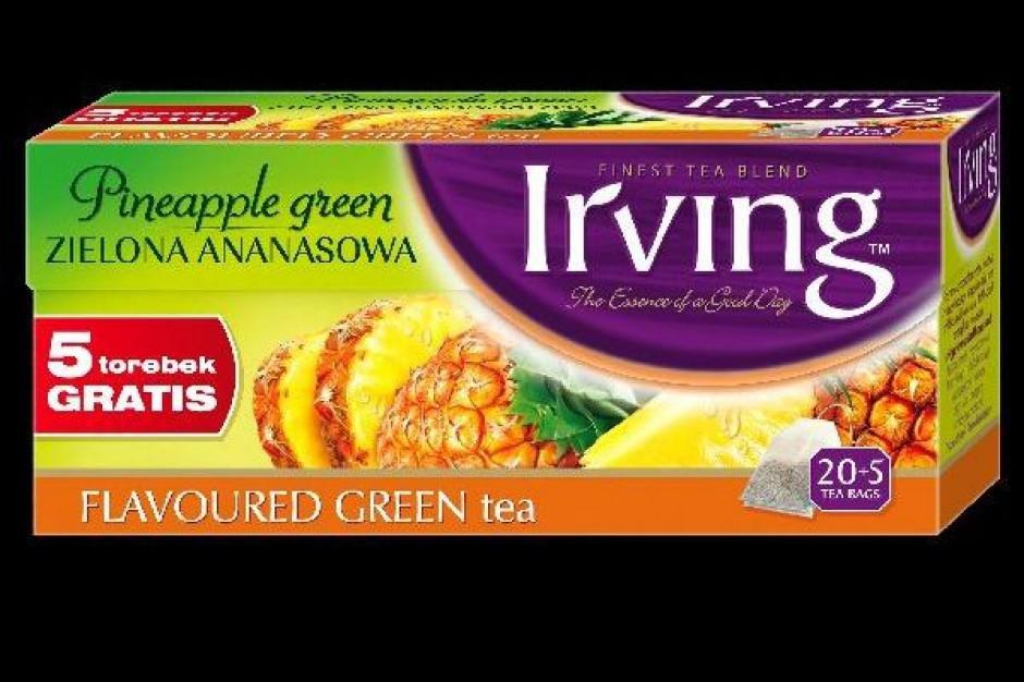 Owocowe zielone herbaty Irving