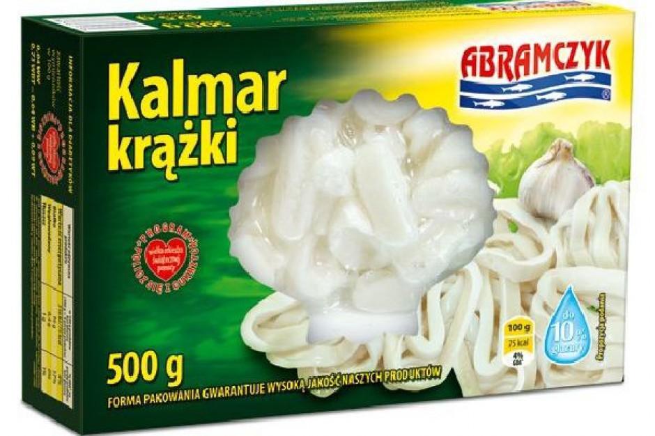 Owoce morza Abramczyka pakowane w kartonikach