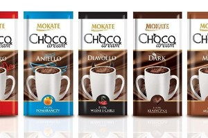 Nowe czekolady do picia do Mokate