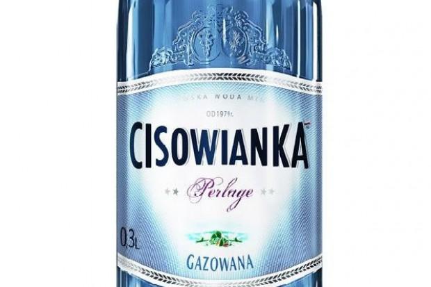 Nowa szklana butelka Cisowianki