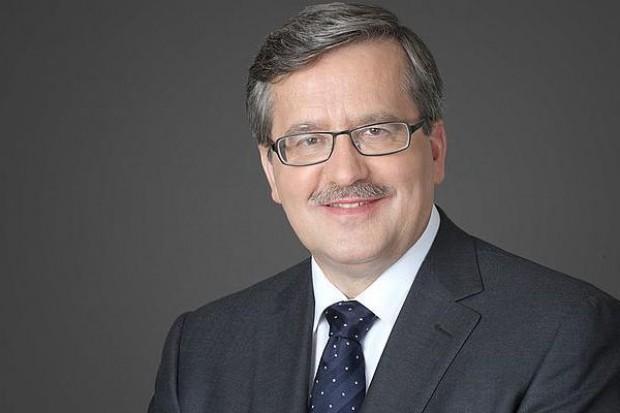 CBOS: Rekordowe zaufanie Polaków do prezydenta Komorowskiego