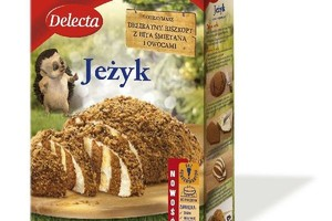 Słodki Jeżyk - nowe ciasto od Delecty