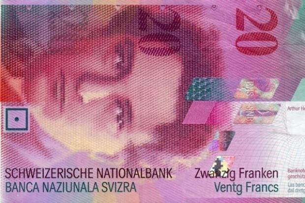 Bank szwajcarski interweniuje, frank gwałtownie spada