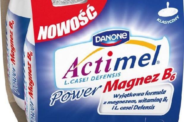 Nowy Actimel - z magnezem