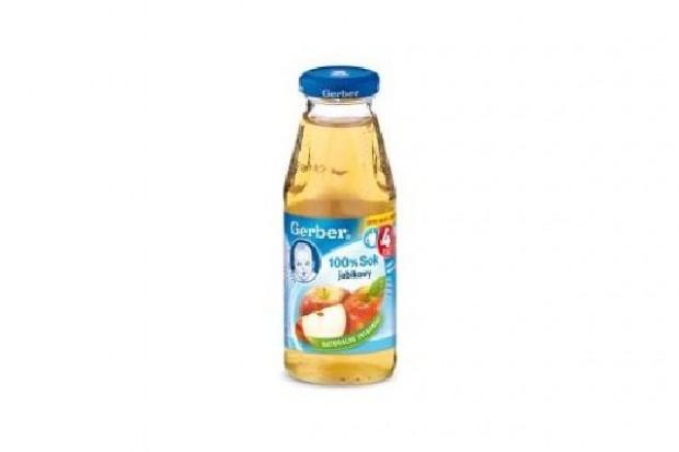 Nestle: Wszystkie soki jabłkowe Gerber są bezpieczne