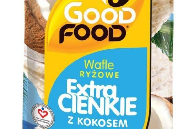 Wafle ryżowe z kokosem