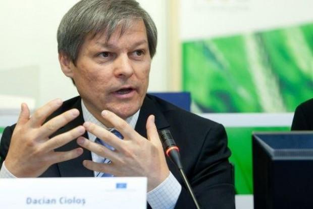 Dacian Ciolos, komisarz UE ds. Rolnictwa: Nie możemy ryzykować wystąpienia kryzysu żywnościowego