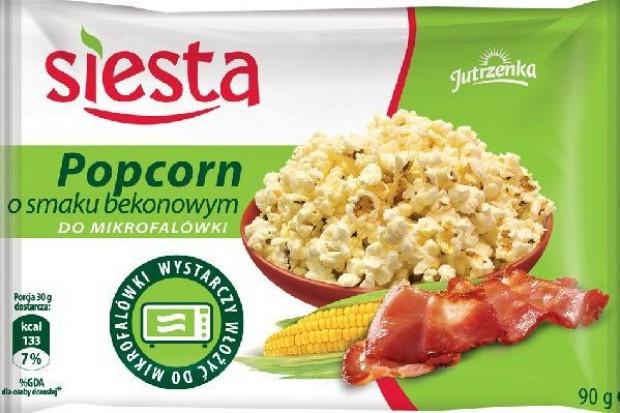 Jutrzenka Colian wprowadza popcorn marki Siesta