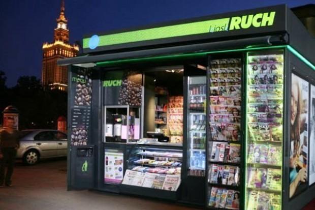 Nowy format kiosków Ruch generuje oczekiwane zyski