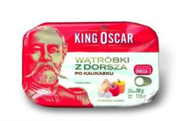 Wątróbki z dorsza po kaukasku marki King Oscar