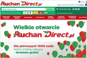 Sieć Auchan testowała projekt w Polsce, teraz uruchomi go na świecie