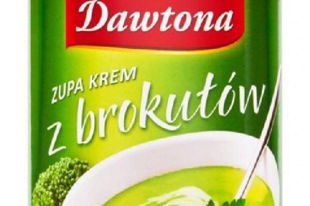 Zupa w puszce od Dawtona