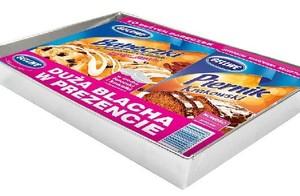 Ciasta Gellwe w zestawach z blachami do pieczenia