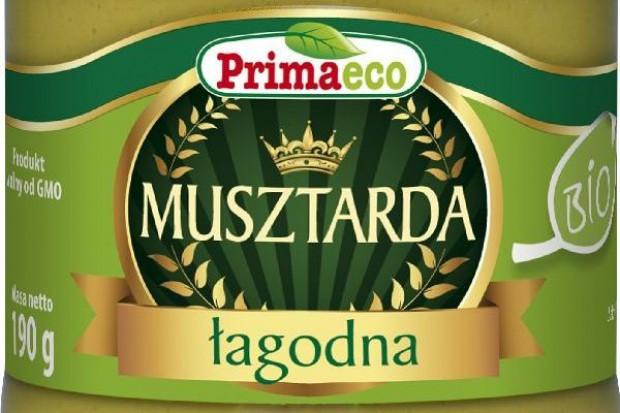 Musztarda łagodna BIO od Primaeco