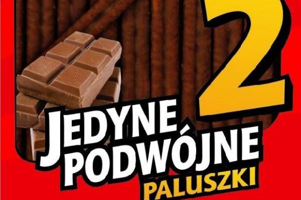 Podwójne paluszki w czekoladowej polewie