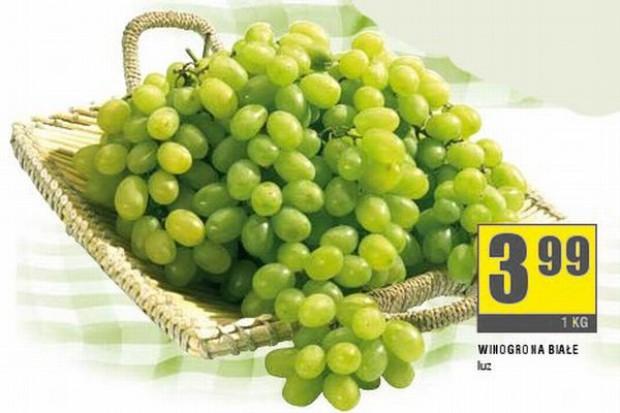 Eksperci: Sieci handlowe w swoich gazetkach najmocniej promują winogrona