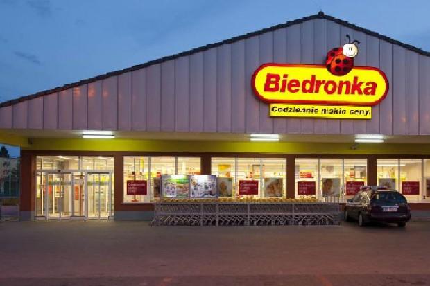 Biedronka notuje 20-proc. wzrost sprzedaży. W 2012 r. nowy layout sklepu