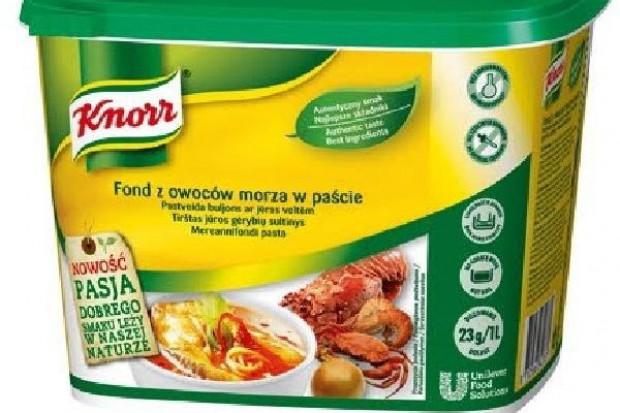 Fond z owoców morza w paście Knorr