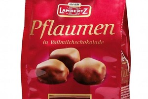 Śliwki w mlecznej czekoladzie