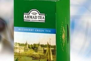 Zielona herbata jagodowa