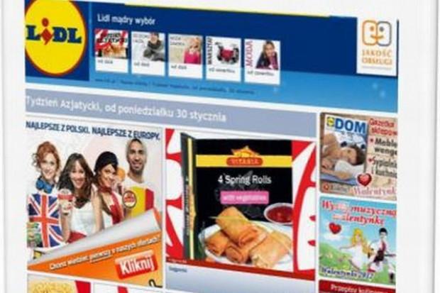 Strona sieci Lidl częściej odwiedzana niż Biedronki, Tesco, czy Carrefoura