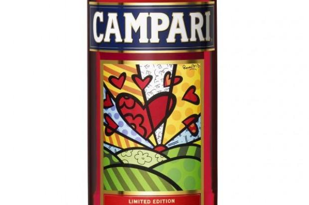 Nowa etykieta Campari na Walentynki