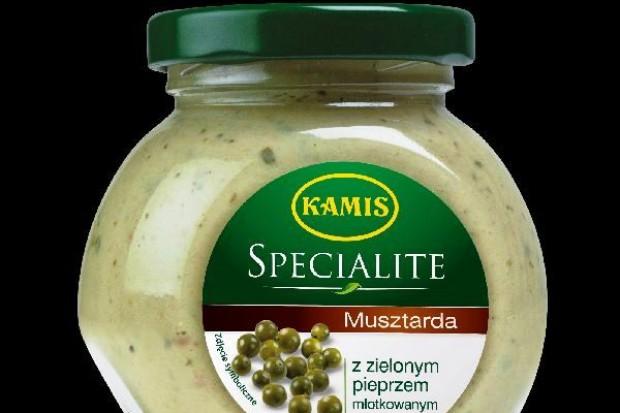 Musztarda Specialite z zielonym pieprzem młotkowanym