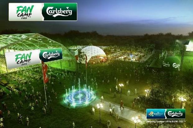 Carlsberg zbuduje na euro 2012 cztery FanCampy z miejscami noclegowymi, gastronomią i strefami rozrywki