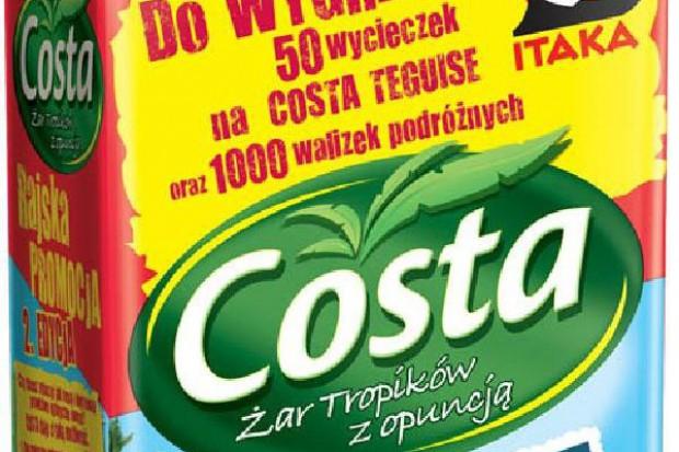 Tropikalne napoje marki Costa