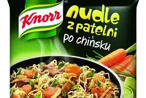 Nudle Knorr z patelni