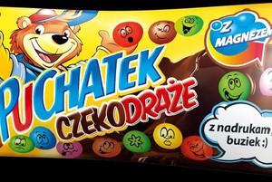 Maspex rozszerza markę Puchatek o draże dla dzieci
