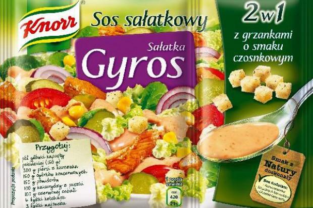 Sałatka Gyros 2w1 od Knorr