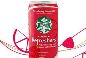 Starbucks wprowadzi globalną marką napojów energetyzujących
