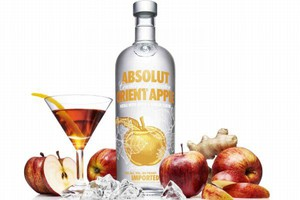 Nowy Absolut Orient Apple, o smaku imbirowo-jabłkowym