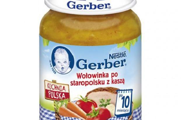 Gerber wprowadza linię produktów Kuchnia Polska