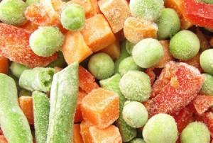 Wzrosła produkcja mrożonych warzyw