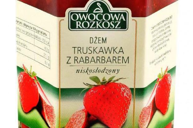 Truskawkowo-rabarbarowy dżem Owocowa Rozkosz