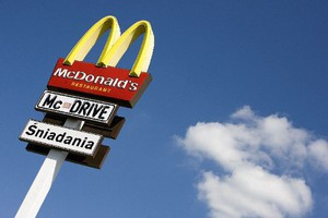 McDonalds buduje kolejną restaurację w ramch Miejsc Obsługi Podróżnych