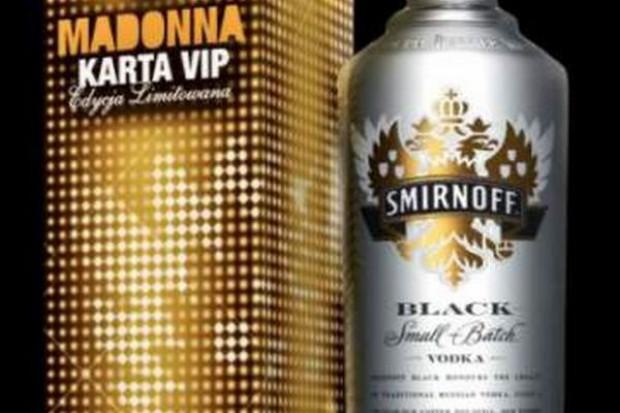Smirnoff oferuje zestaw, w którym można wygrać wejściówkę na koncert Madonny