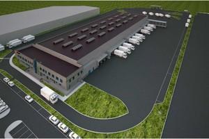 DB Schenker Logistics uruchomił nowy terminal w Krakowie